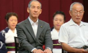 教育長 牛山 廣司 文化協会長 高藤 俊幸